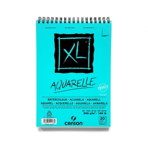 Blok do akwareli Canson XL Aquarelle A5 300 g 20 ark.