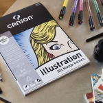 Blok do mangi i komiksu Canson Illustrator A3 250g 12 ark.