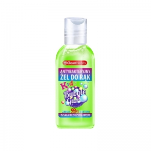 Żel antybakteryjny do rąk Clean Hands Kids Bubble Gum 50 ml