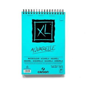 Blok do akwareli Canson XL Aquarelle A4 300 g 20 ark.