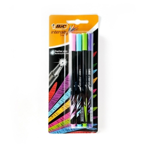 Cienkopisy BIC Intensity Fine 4 szt. Fun