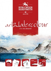 Blok do akwareli Koh-I-Noor  artWatercolour A3 300 g 12 ark
