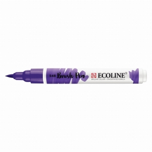 Marker Talens Ecoline Brush Pen blue violet 548