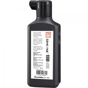 Tusz do kaligrafii Kuretake Sumi Ink 180 ml